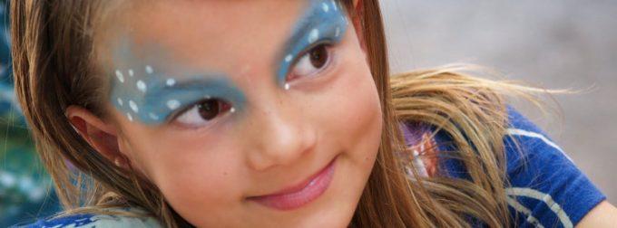 Maquillage, pour une fête d'anniversaire réussie
