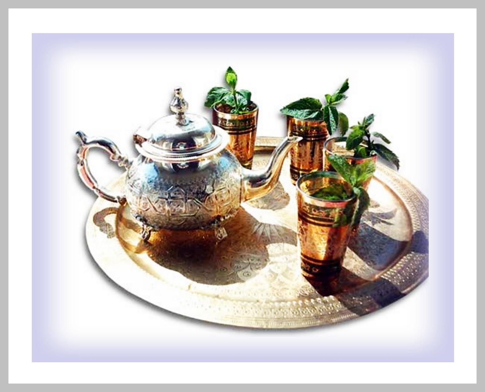 faire du thé à la menthe fraiche